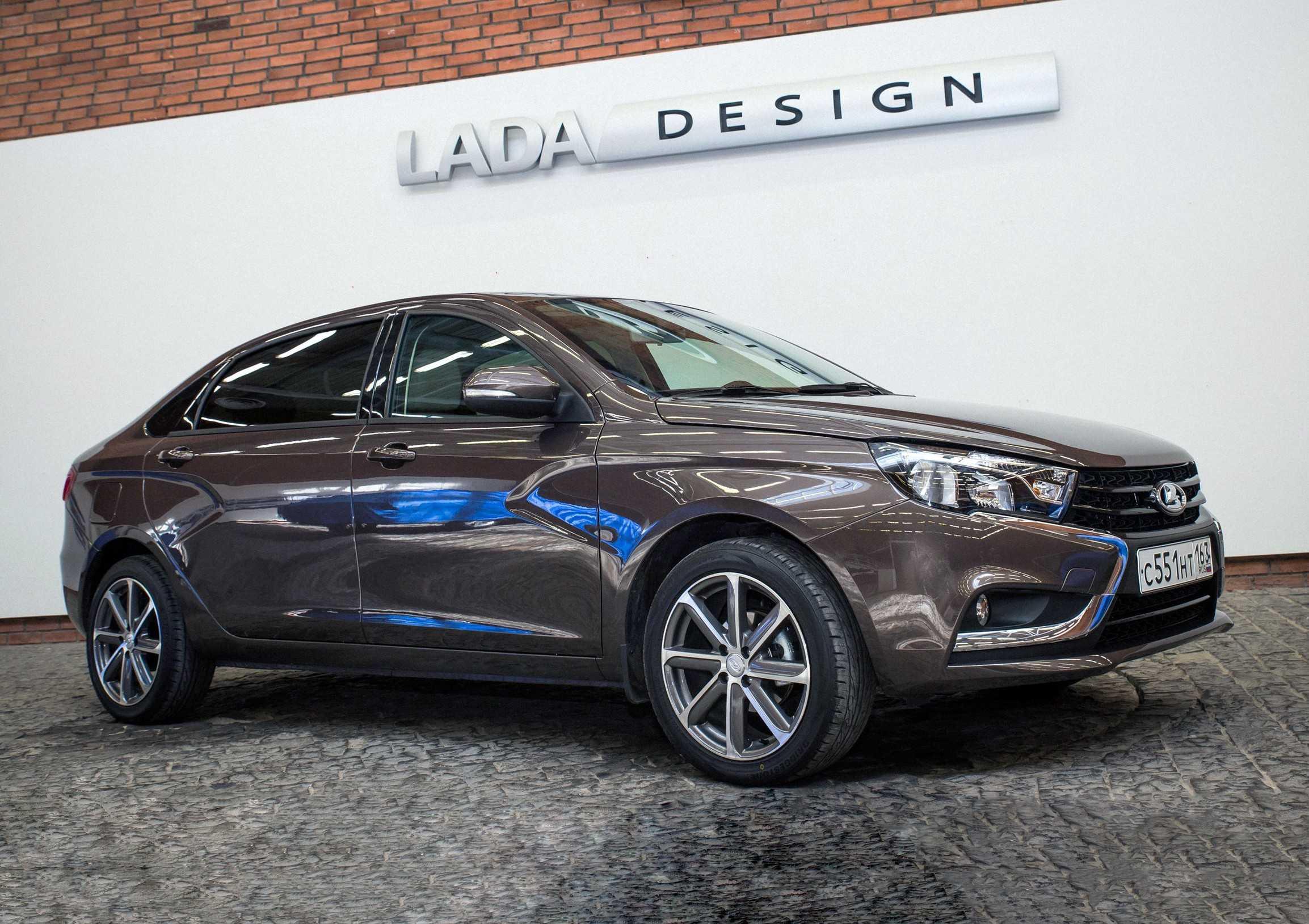Лада Веста Сигнатур фото, видео, характеристики, цена Lada Vesta Signature