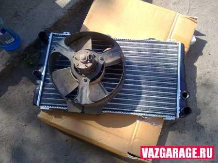 Снятие радиатора Lada Granta