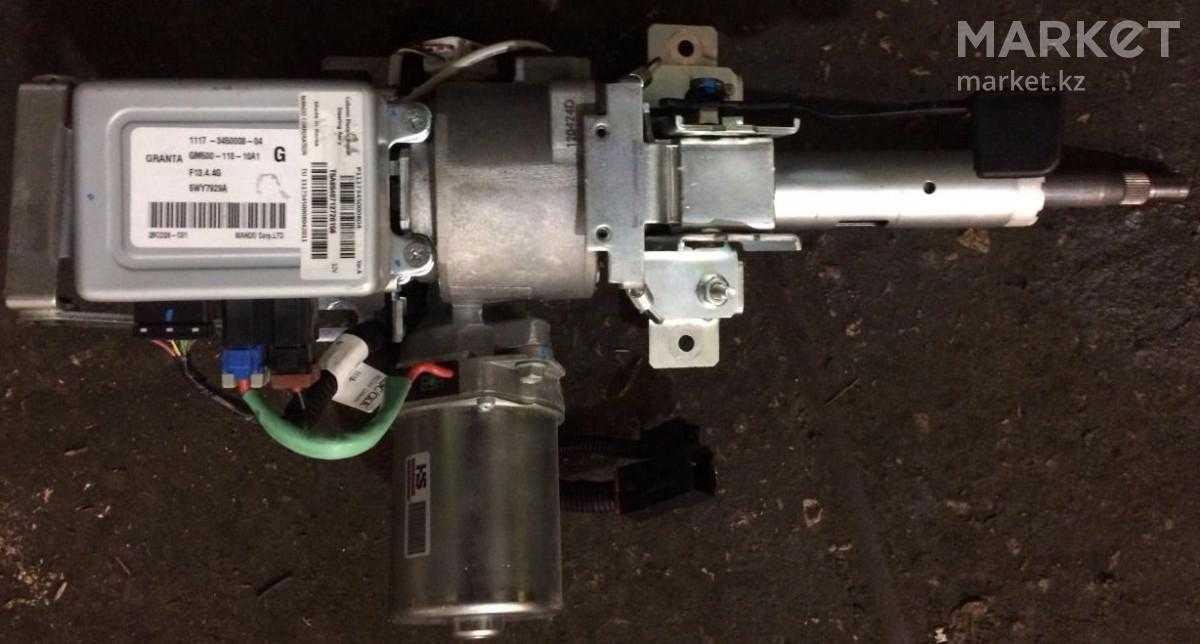 Установка электроусилителя руля (эур) на lada granta в базовой комплектации «стандарт»