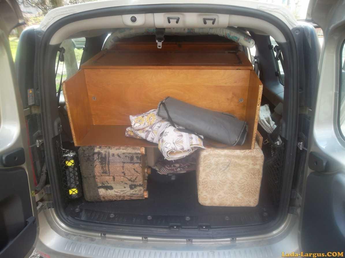Автомобиль для перевозки инвалидов на базе Lada Largus Plus