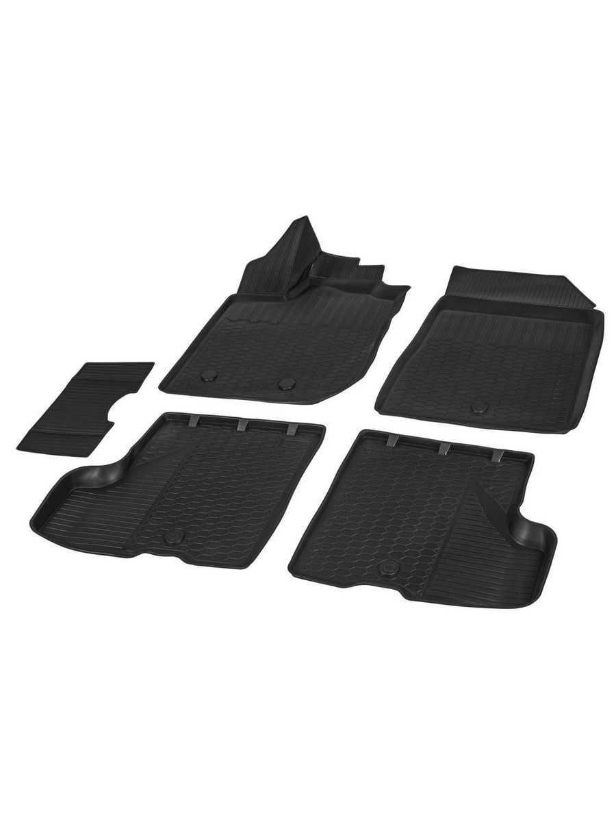 Коврики салона для Lada Xray хэтчбек 2015-н.в./Xray Cross 2018-н.в. (без вещевого ящика) Rival 7532642 в интернет-магазине