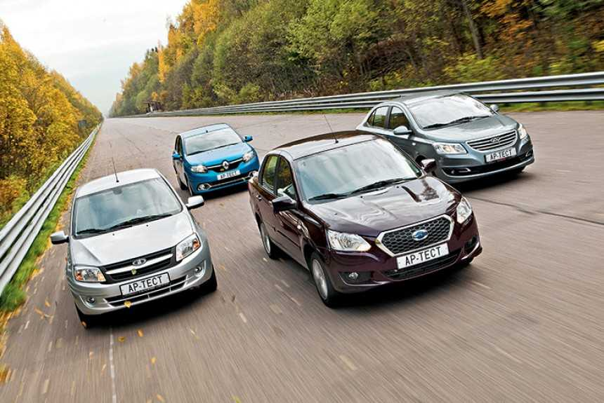 Datsun on-DO, Лада Гранта, Renault Logan и Chery Bonus 3. Кто кого?