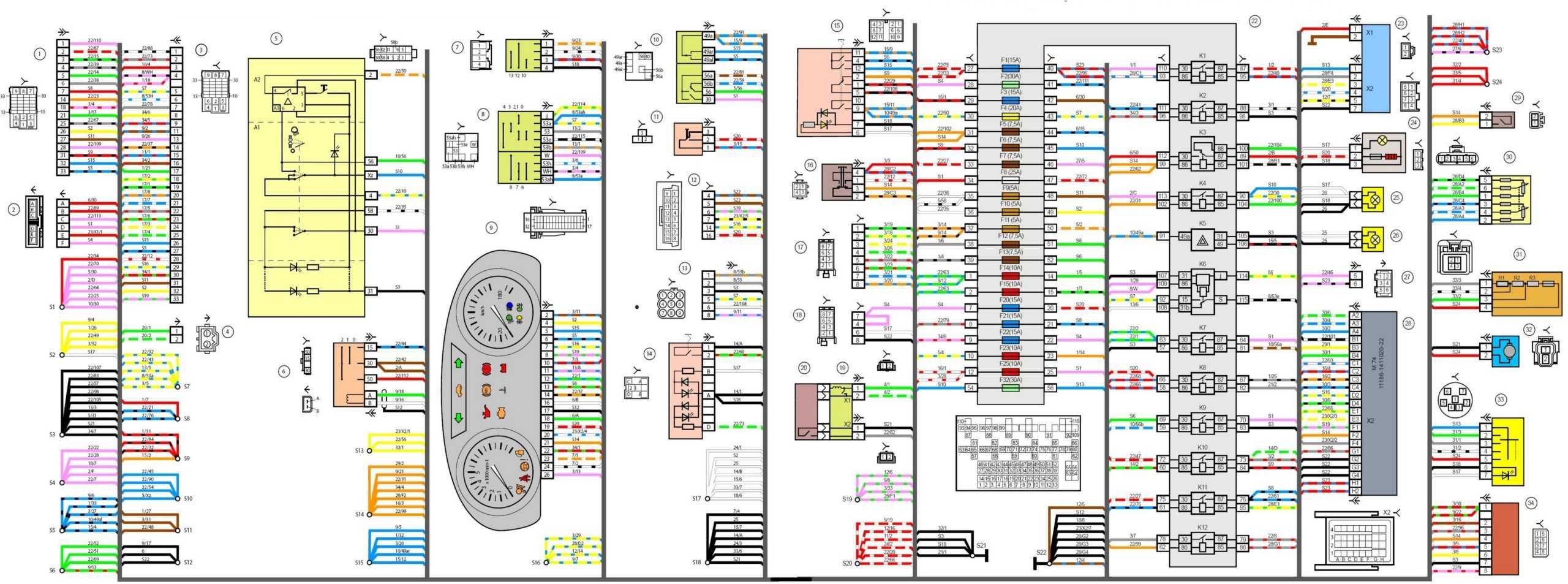 Схемы электрооборудования Лада Гранта - Официальный Лада Гранта Клуб