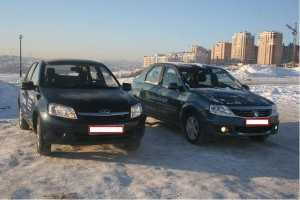 Сравнение Renault Symbol 1.4 и Lada Granta (2011-2018) 1.6 (106 л.с.)
