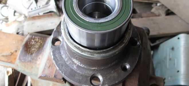 Замена подшипника ступицы переднего колеса