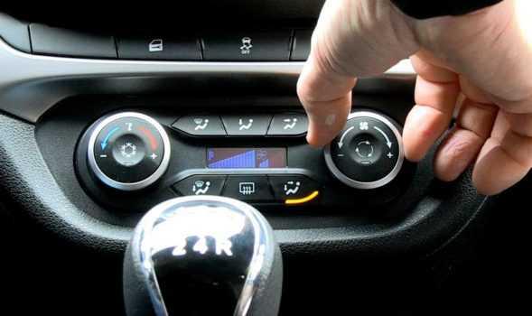 Климат контроль в автомобилях Лада Веста