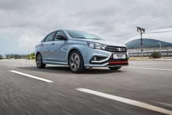 «АвтоВАЗ» объявил старт продаж Lada Vesta Sport: от 1 009 900 рублей