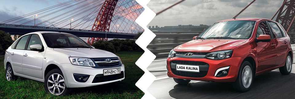Сравниваем Lada Granta Cross и Lada Kalina Cross, в чем же разница