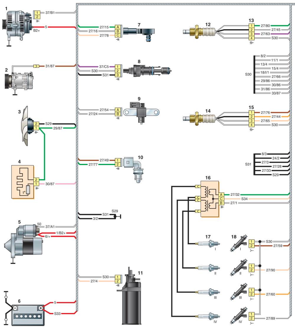 """Комбинация/ Панель приборов """"Стрелочная"""" GF890"""
