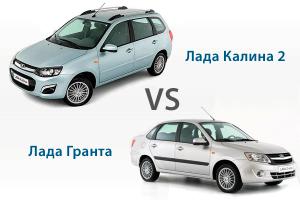 Какое авто лучше выбрать: Гранту или Калину 2?