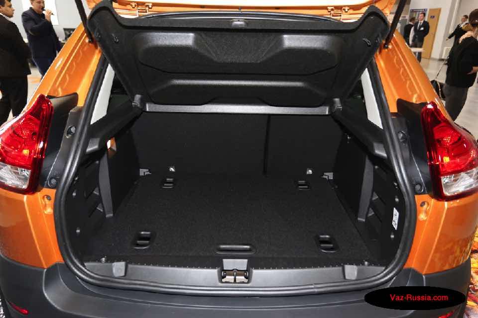 Всё о багажнике «Лада X Рей»
