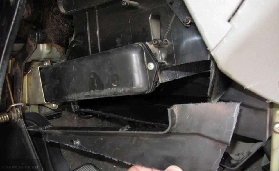 Замена радиатора печки Лада Гранта своими руками — фото и видео