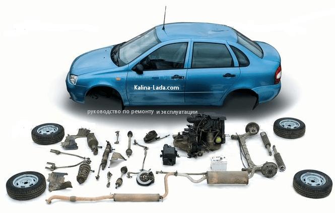 Руководство по ремонту автомобиля Lada Kalina (ВАЗ-11183)