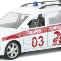 Autotime Модель автомобиля Lada Largus Армейская — купить в интернет-магазине OZON с быстрой доставкой