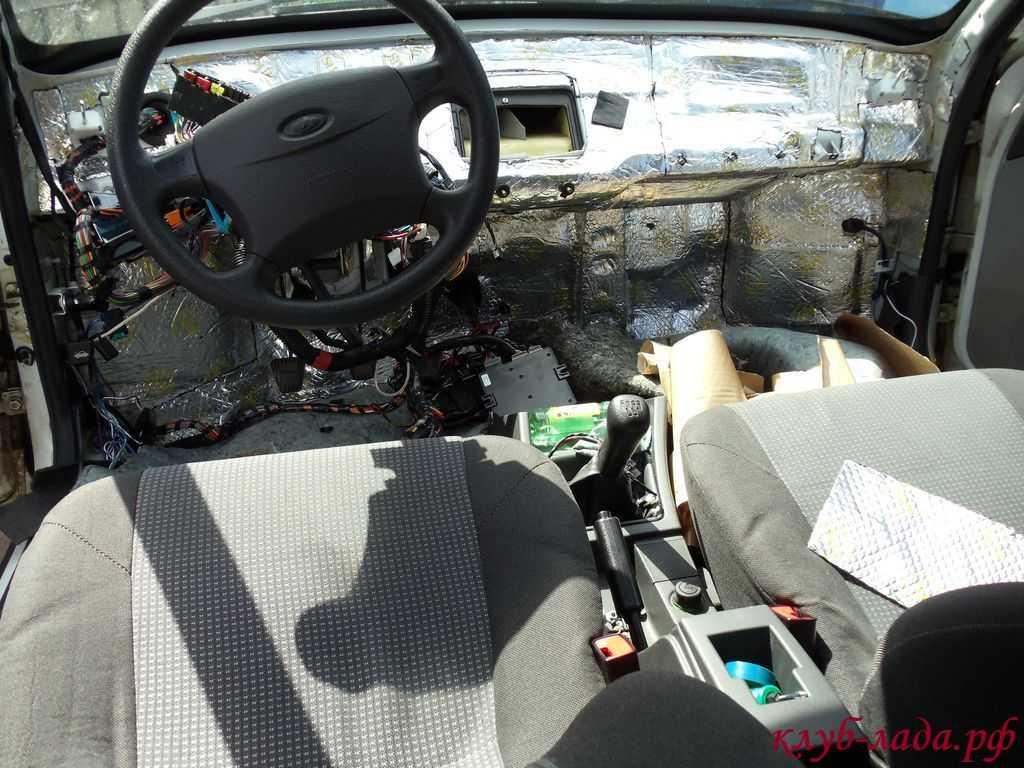Как сделать шумоизоляцию моторного щита со стороны двигателя » Лада.Онлайн - все самое интересное и полезное об автомобилях LADA