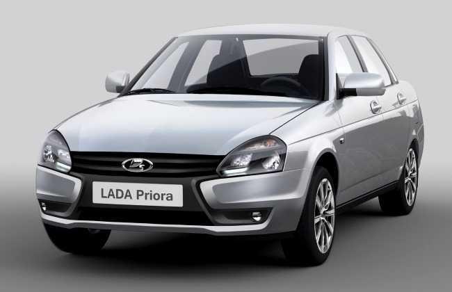 «АвтоВАЗ» озвучил цены на рестайлинговую LADA Priora