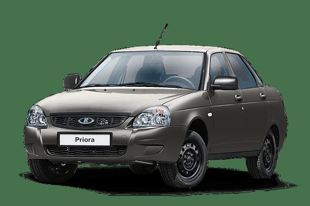 Lada Priora Sedan - фото салона и кузова, цветовая гамма