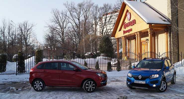 Что выбрать: LADA XRAY или «родственный» Renault Sandero Stepway - Автомобили - АвтоВзгляд