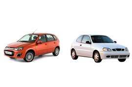 Сравнение автомобилей ВАЗ (Lada) Kalina или Chevrolet Lanos, а также ЗАЗ Lanos: какую машину выбрать