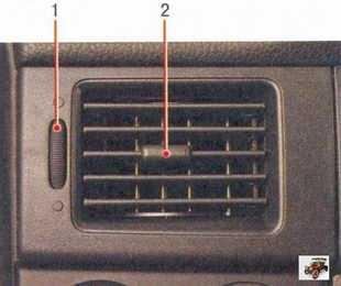 Отопление и вентиляции салона   Раздел 1. Устройство автомобиля Лада Приора ВАЗ 2170