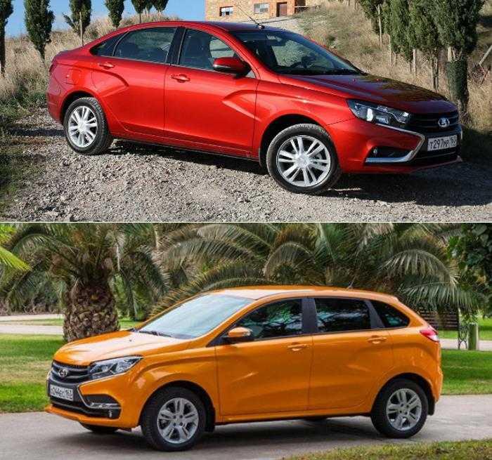 Лада Икс Рей или Веста: что лучше, хетчбек XRay или Vesta седан? Фото и обзор авто