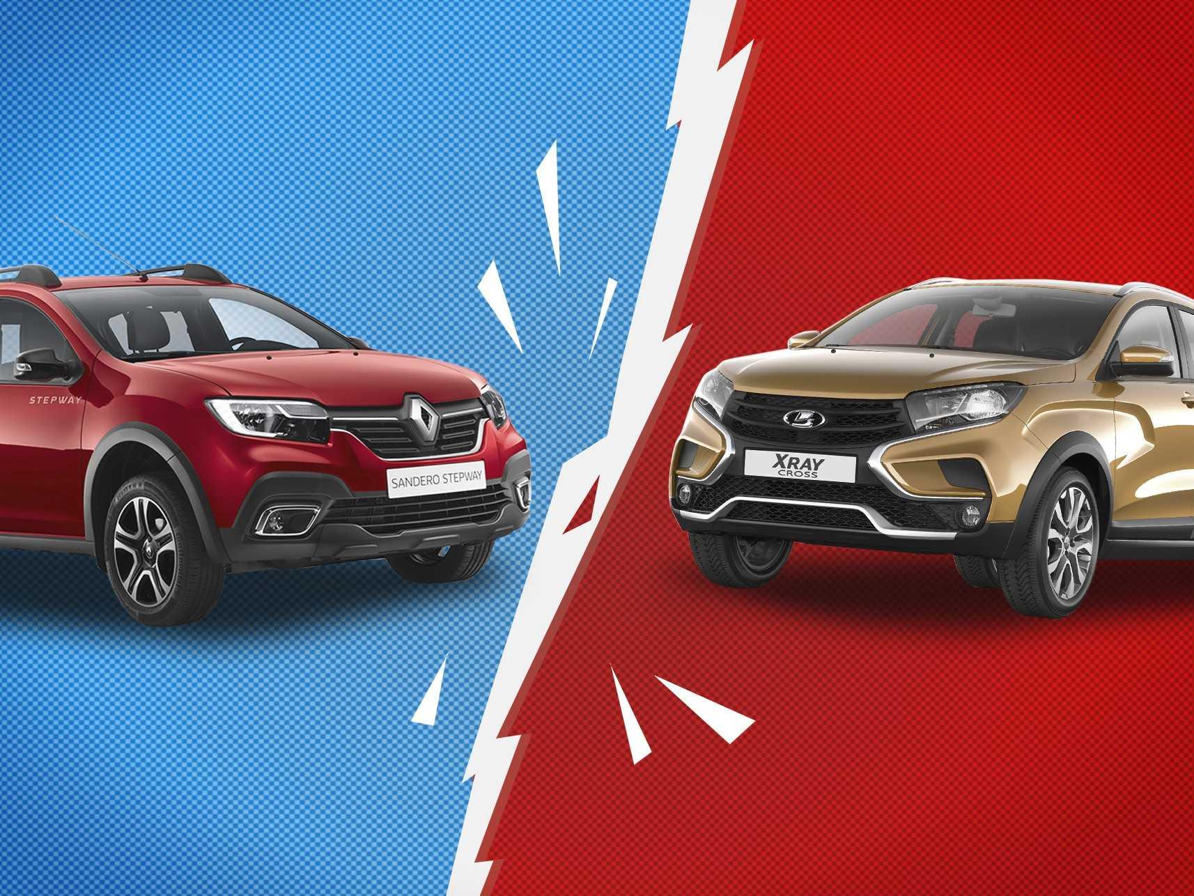 Тест: что тебе больше подходит, Lada XRAY Cross или Renault Sandero Stepway? - КОЛЕСА.ру – автомобильный журнал
